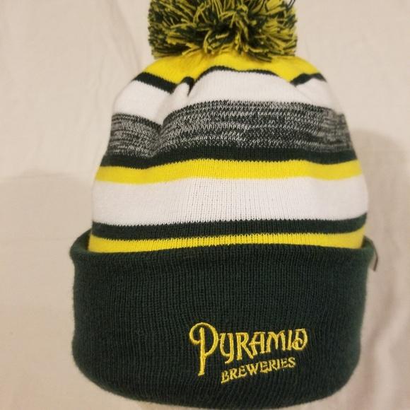 815759faceda Pyramid breweries new Era beanie hat. M 5c372a4845c8b3cbddcef989. Other  Accessories ...